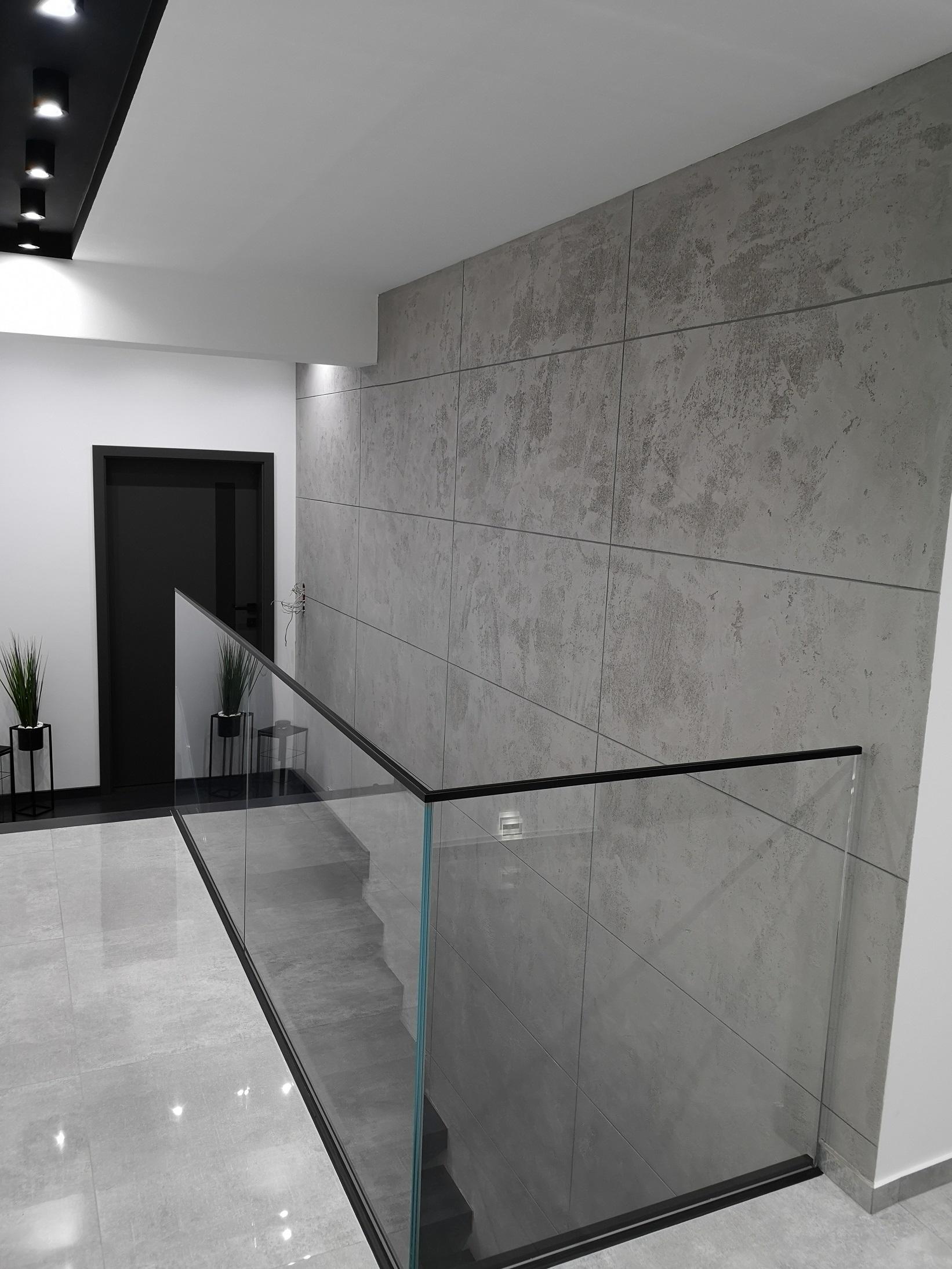 Imitacja płyt betonowych